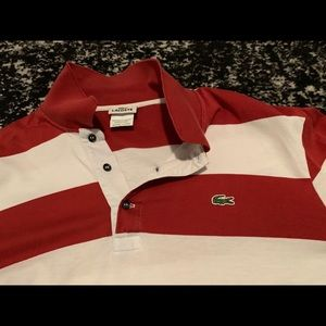Lacoste Long Sleeve Rugby Polo